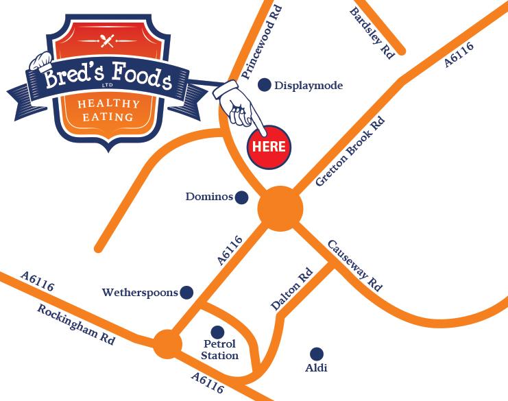 Breds Foods map