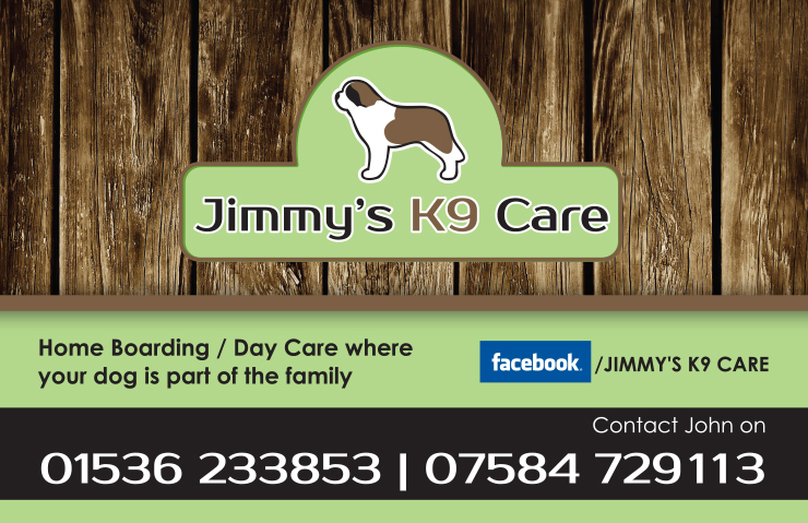 K9 Care Business Card