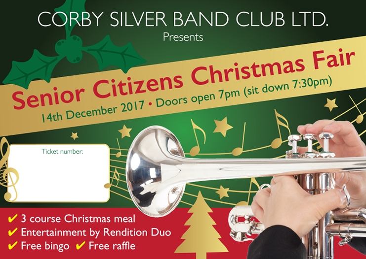 Corby Silver Band A6 Xmas Invite 0817 PRESS