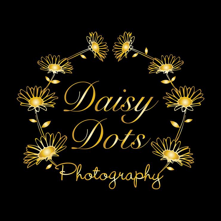 Daisy Dots logo FINAL one colour gold